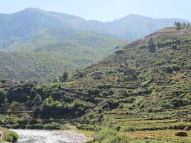 On the Road to Thimphu