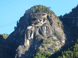 View of Tiger's Nest Monestary