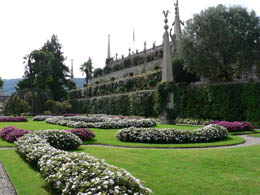 The Garden at Borromeo Palace