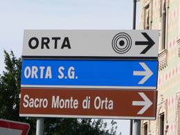 Which way to Orta?