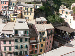 Our view of Vernazza