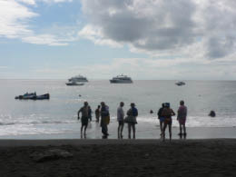 Our group ready to snorkle