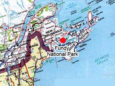 Worksheet. Fundy national Park