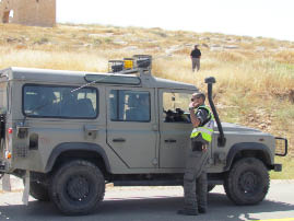 The IDF is in charge