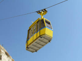 Cable car to the grottos