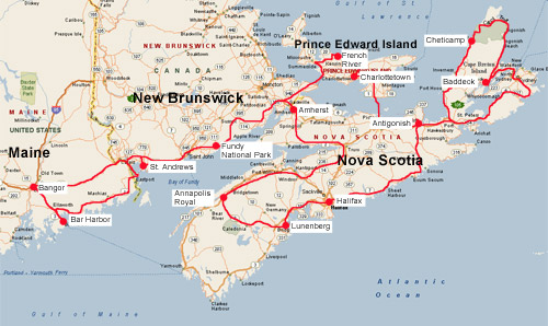 an introduction to the maritime province of new brunswick