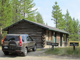 Our Colter Bay Village Cabin
