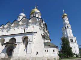 Cathedral of the Archangels (with Ivan the Great Bell Tower)