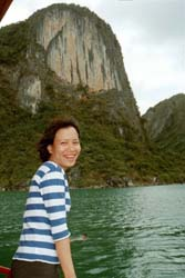 Thuy, Ha Long Bay